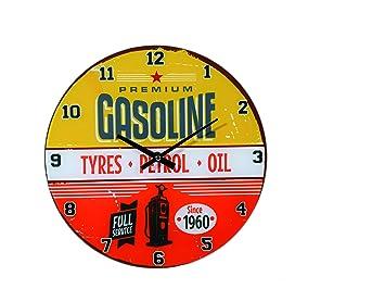 Orologio da Parete Gasoline