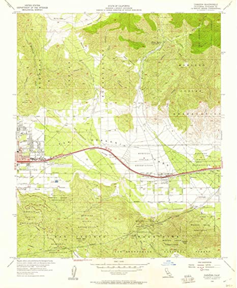 Cabazon Ca Map on