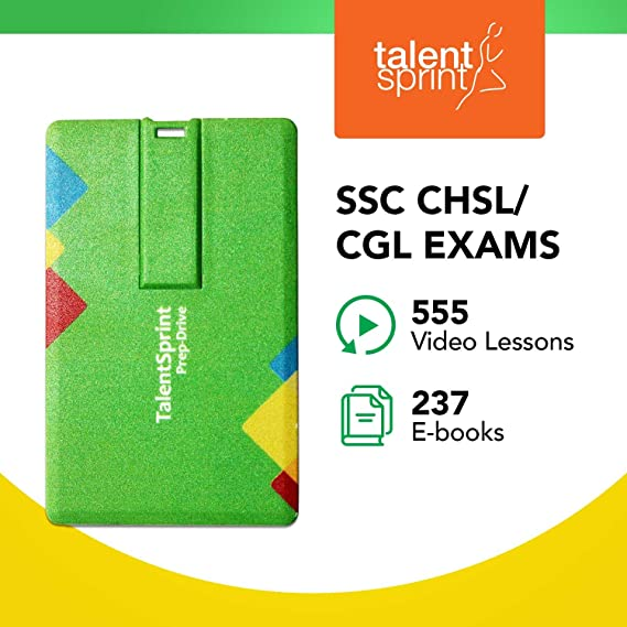Pendrive Video Lectures and Ebooks for SSC-CGL (Combined