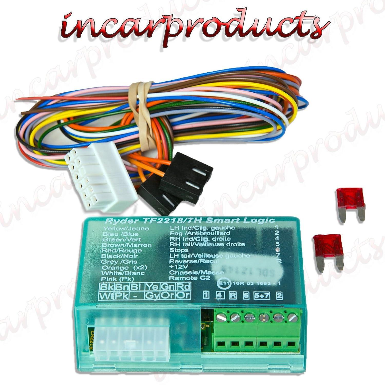 Towbar Wiring Kit 7 Pin trailer Universal Electrics Maypole MP389 7way Bypass