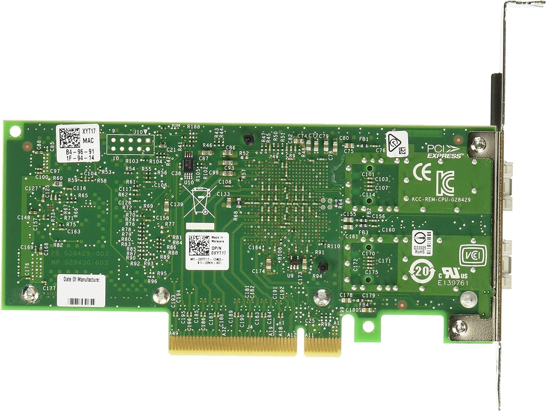 Dell Intel X520-DA2 10G Dual Port SFP PCI-e NIC Full Height Bracket 2094N 10Gb