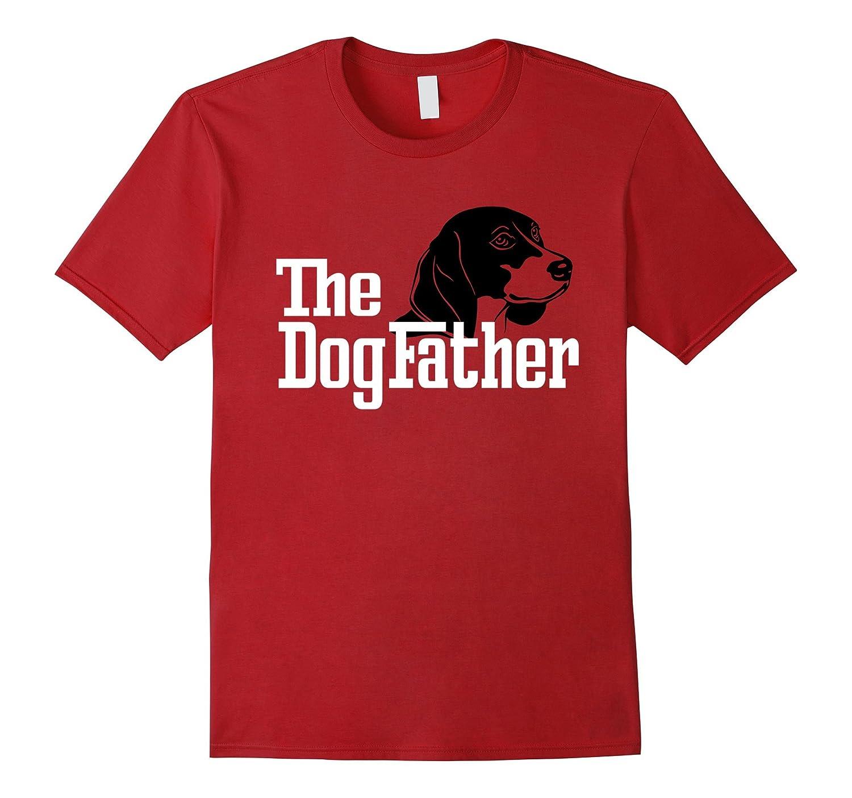 QUALITY Dog father BULLDOG tshirt t-shirt present dad dogfather gift God pet