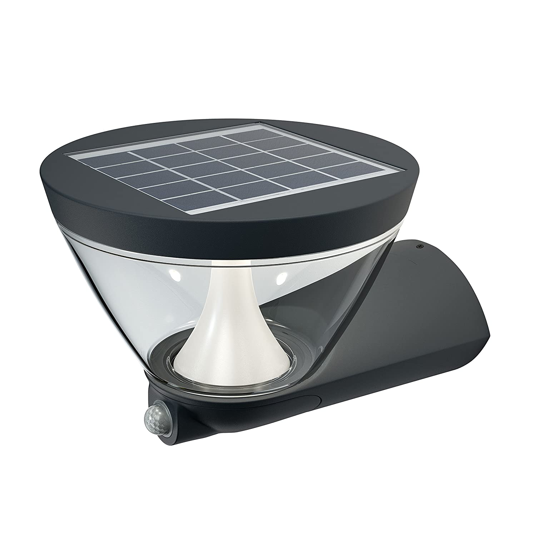 Osram Endura Style Lantern Solar LED Wall-Outdoor Luminaire, Warm White, 5 W LEDVANCE 4058075032644