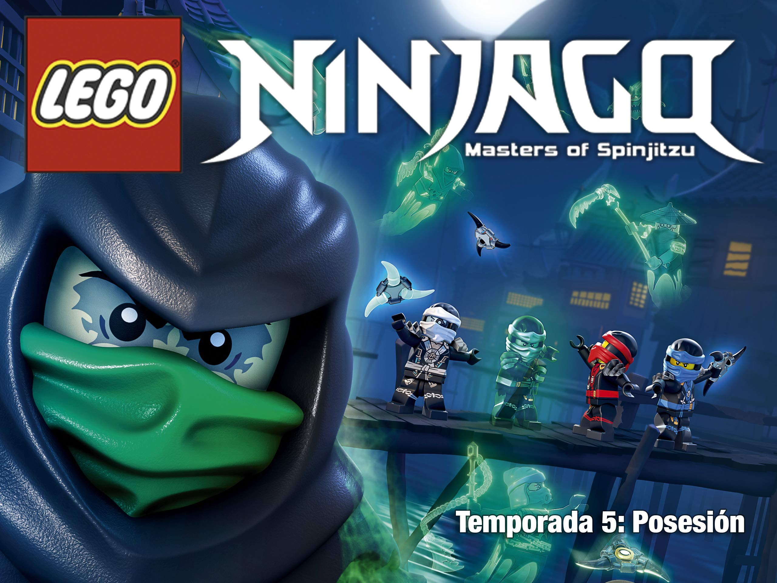 Watch Lego Ninjago Possession Season 5 Español Prime Video