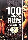 Tauzin Bruno 100 Meilleurs Riffs Basse Bass Guitar Book/Cd