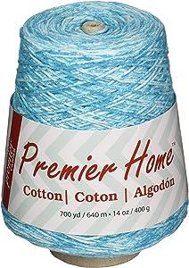 Premier Yarns 1032-05 Home Cotton Yarn - Multi Cone-Ocean Splash