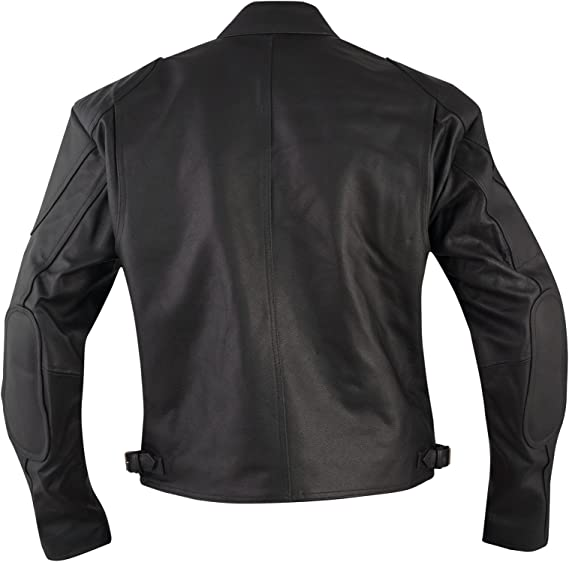 Bikers Blouson Veste Moto Cuir Custom Motard Vetements Superbe Neuf noir S