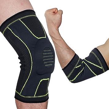 Rodillera para deportes para correr Baloncesto Joint Pain Relief Single Wrap: Amazon.es: Salud y cuidado personal