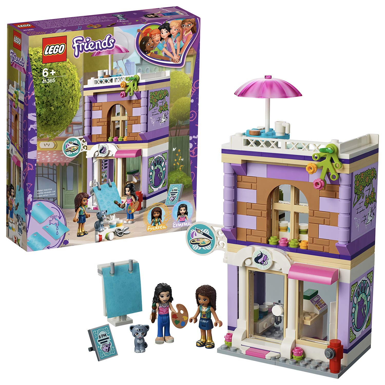 Lego 41365 Friends Emmas Art Studio Playset Emma Mini Doll Cat