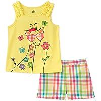 Kids Sead, Juego de 2 Pantalones Cortos para niñas pequeñas