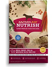 Rachael Ray Nutrish Real Beef, Pea & Brown Rice Recipe Dry Dog Food, 40 Pounds