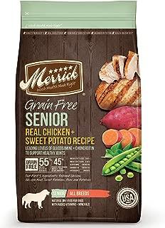 product image for Merrick Grain Free Senior Dog Food