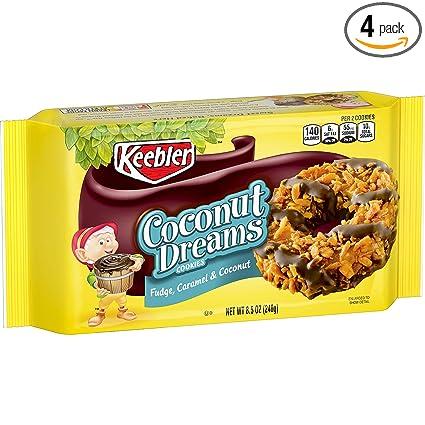CookiesCoconut Tray 5 4 Keebler Of DreamsFlavors pack Stripes Oz Coconut8 FudgeCaramel And Fudge SVqpUzM