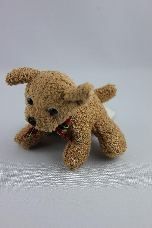 Rusia - 22474 - Perro, color marrón claro, peluche, 8 cm ...