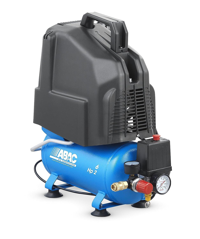 Compresor de pistón coaxial sin aceite ABAC 4116023460 Serie PRO Mod.: START O20P: Amazon.es: Bricolaje y herramientas