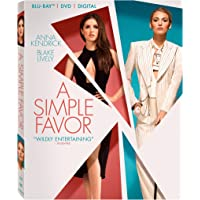 A Simple Favor (Blu-ray + DVD)
