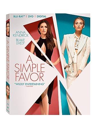 Amazon com: Simple Favor, A [Blu-ray]: Anna Kendrick, Blake