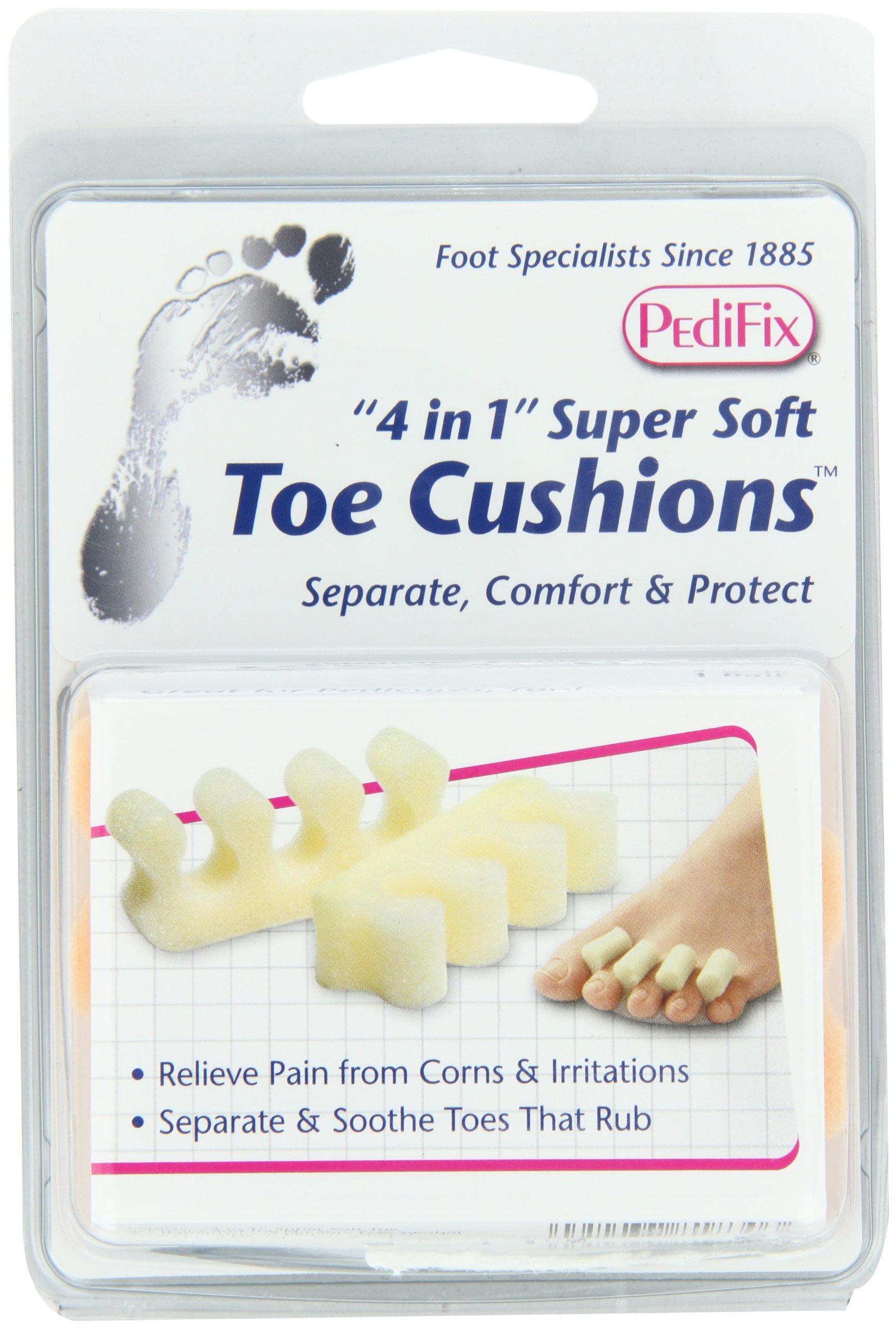 PediFix '4 in 1' Super-Soft Toe Cushions, 2 Pack by Pedifix (Image #3)