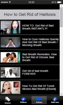 Amazon com: Natural Remedies For Halitosis: Appstore for Android