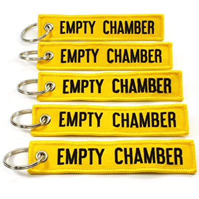 Empty Chamber - Key Chains - 5pcs Rotary13B1 (Yellow): Office Products