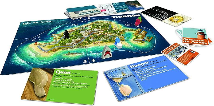 Ravensburger Tiburón, Juego de mesa, Versión Española, 2-4 Jugadores, Edad recomendada 12+ (26830): Amazon.es: Juguetes y juegos