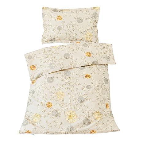 Sunrise - Ropa de cama para minicuna, 100% Algodón (funda de edredón 80x120