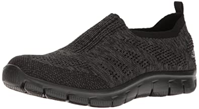 ba8c7724dccc Skechers Damen Empire - Inside Look Sneakers weiß schwarz  Amazon.de ...