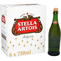Stella Artois Christmas Lager Bottles 6x750ml