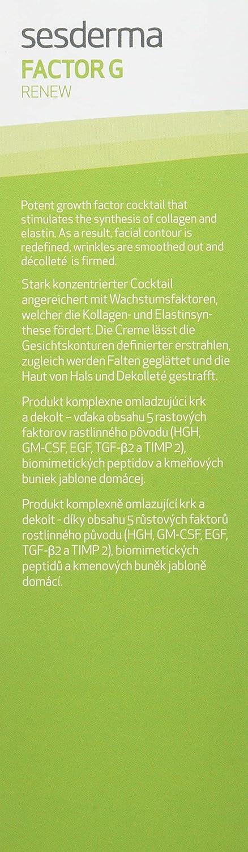 SESDERMA Factor G Renew Ovalo Facial y Cuello - 50 gr