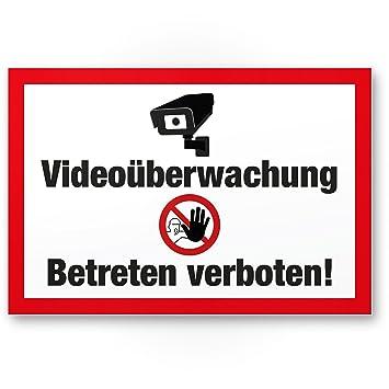 Video Vigilancia/Prohibido entrar - Atención/Vorsicht ...