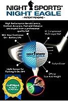 NACHTGOLF Night Eagle LED-Golfbälle 3er Set presented by LEDs Change The World