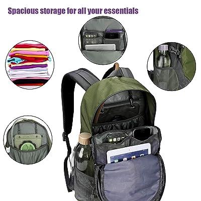 Outdoor Climbing Backpacks Wear-resisting Leisure Travel Hiking Knapsack UK