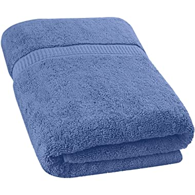Utopia Towels Extra Large Bath Towel (35 x 70 Inches) - Luxury Bath Sheet - Electric Blue
