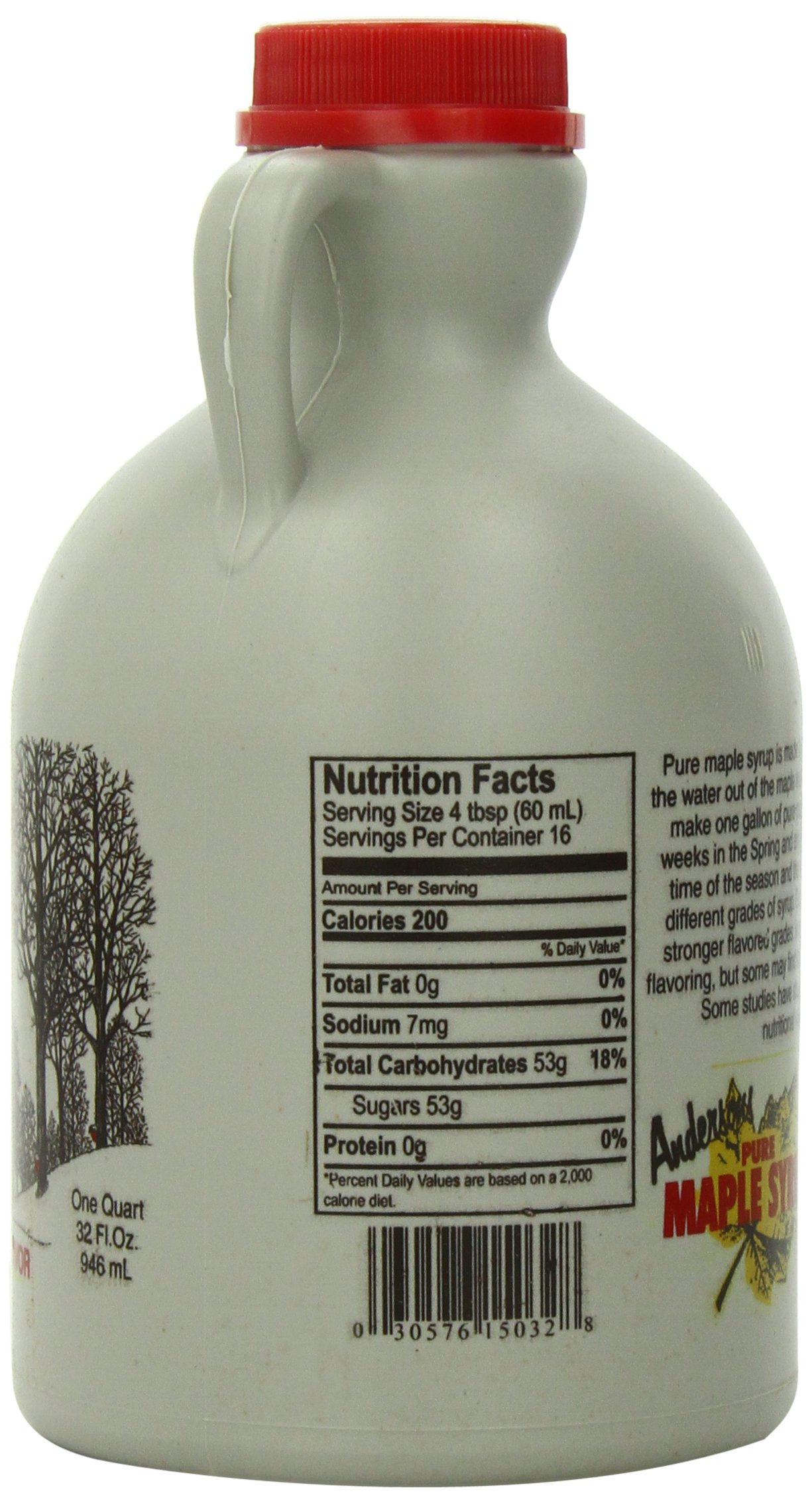 Anderson's Pure Maple Syrup, Grade B, 32-Ounce by Anderson's (Image #3)