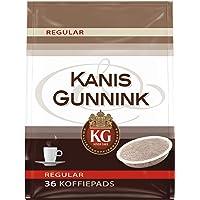 Kanis & Gunnink Koffiepads Regular (360 Pads, Geschikt voor SENSEO Koffiepadmachines, Intensiteit 05/09, Medium Roast…