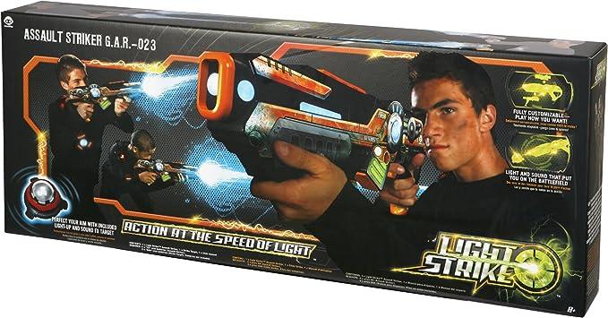 Light Strike - Juego de puntería (3411): Amazon.es: Juguetes y juegos