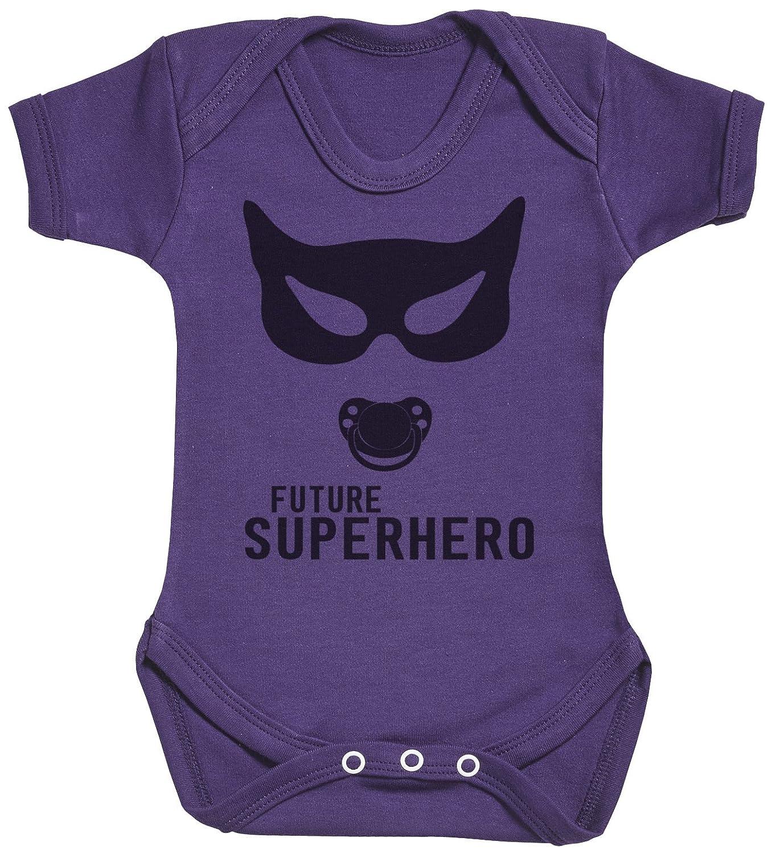 regalo para madres y beb/és en un body para beb/és y una camiseta de mujer a juego SuperHero Mum