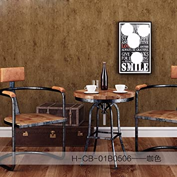KHSKX Altes Schlafzimmer Aus Tapete Hintergrund Wand Einfach Grau ...
