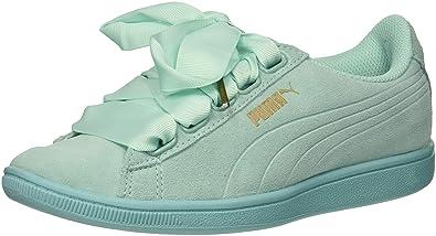 PUMA Women s Vikky Ribbon Sneaker Aruba Blue 4192708a7