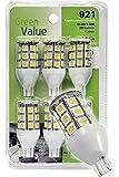 (1) 6 pk 921 Base LED Replacement Bulb 250 LUM 10-24v Warm White 25011V (total 6 bulbs)