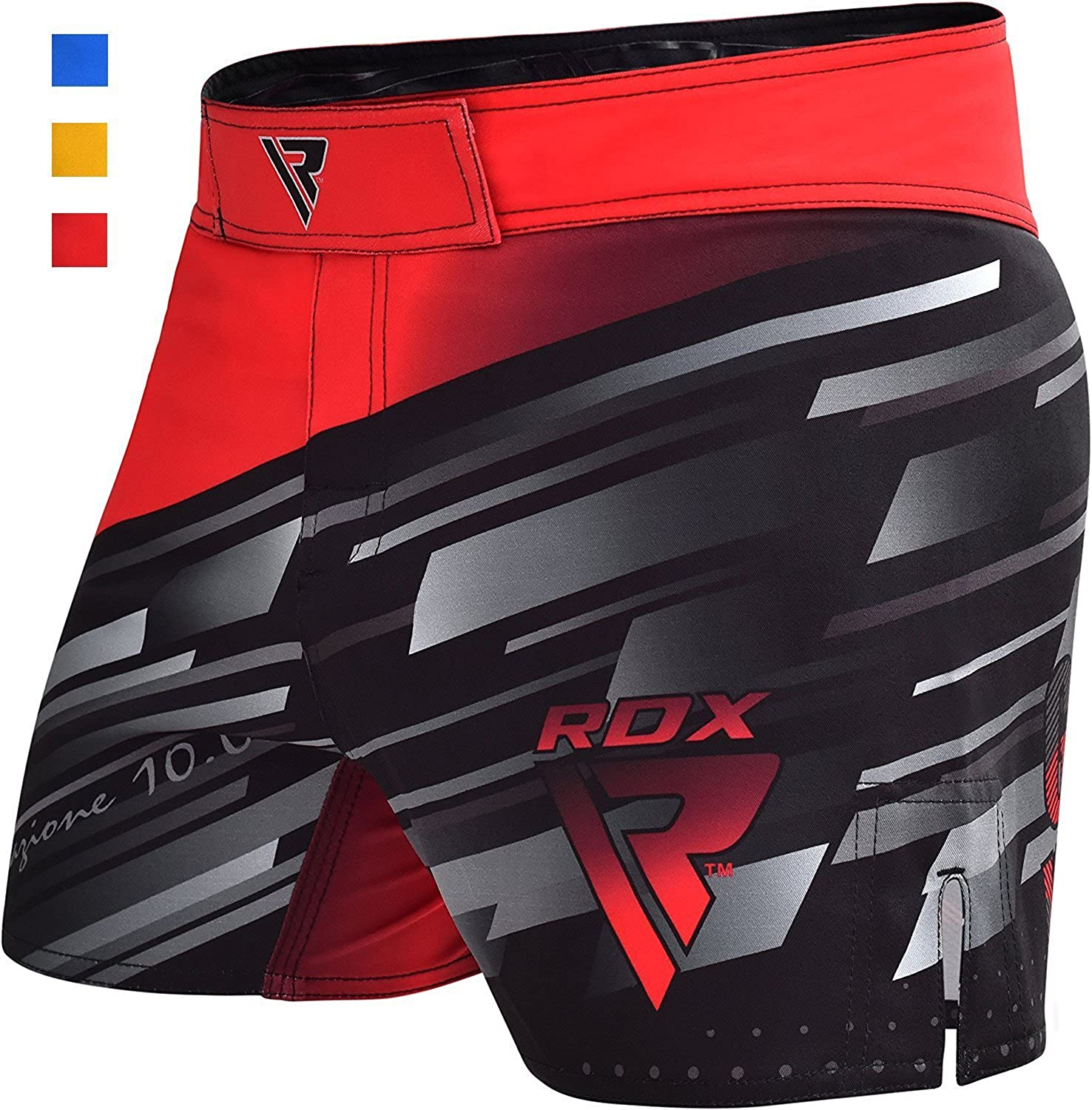 RDX MMA Shorts Kick Boxing Grappling Trunks Training Cage Fighting Martial Arts