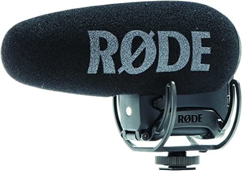 Rode VideoMic Pro + Compact Directional On-Camera Shotgun Condenser Microphone