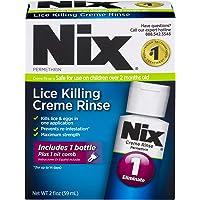 Nix Lice Killing Creme Rinse   Includes Nit Removal Comb   2 FL OZ