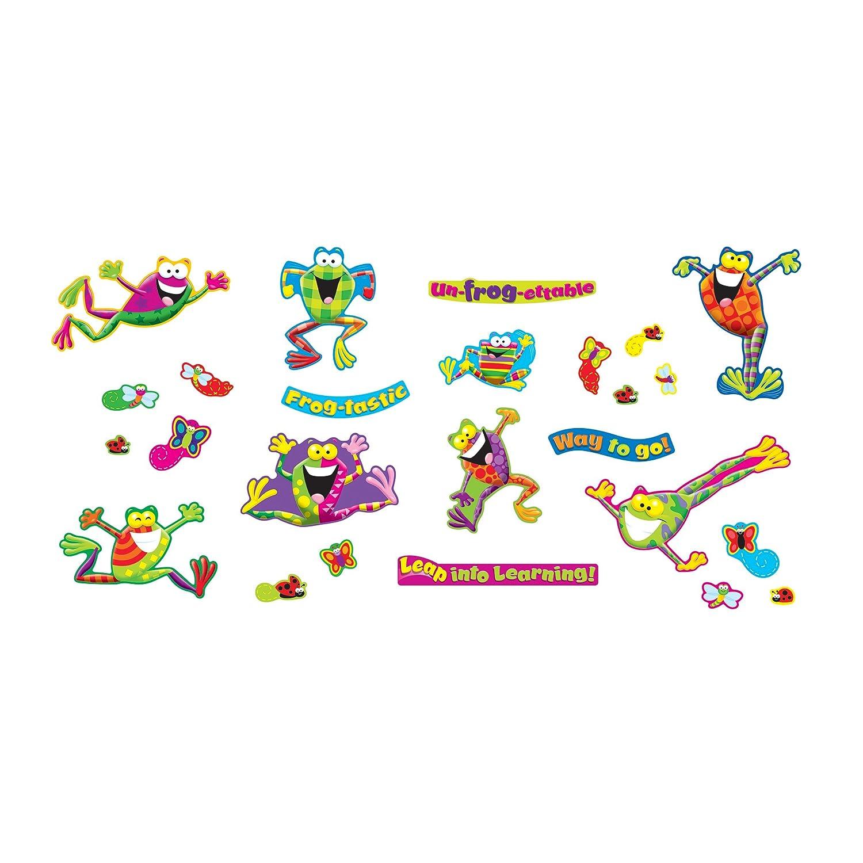 Amazon.com: Trend Enterprises Frog-Tastic! Mini Bulletin Board Set (25  Piece): Toys & Games