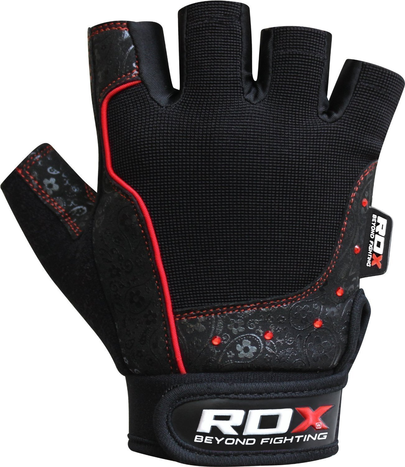 Ladies leather cycling gloves - Amazon Com Rdx Gym Weight Lifting Gloves Women Workout Fitness Ladies Bodybuilding Crossfit Breathable Powerlifting Wrist Support Strength Training