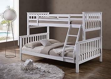 Etagenbett Denise : Sleep design massives kiefern etagenbett oscar einzel und