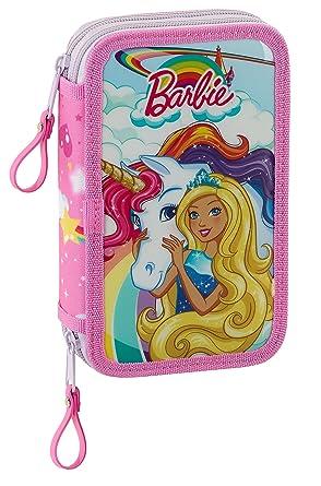 Barbie SAFTA Estuche Dreamtopia Oficial Escolar Incluye 28 Útiles 125x40x195 mm: Amazon.es: Ropa y accesorios