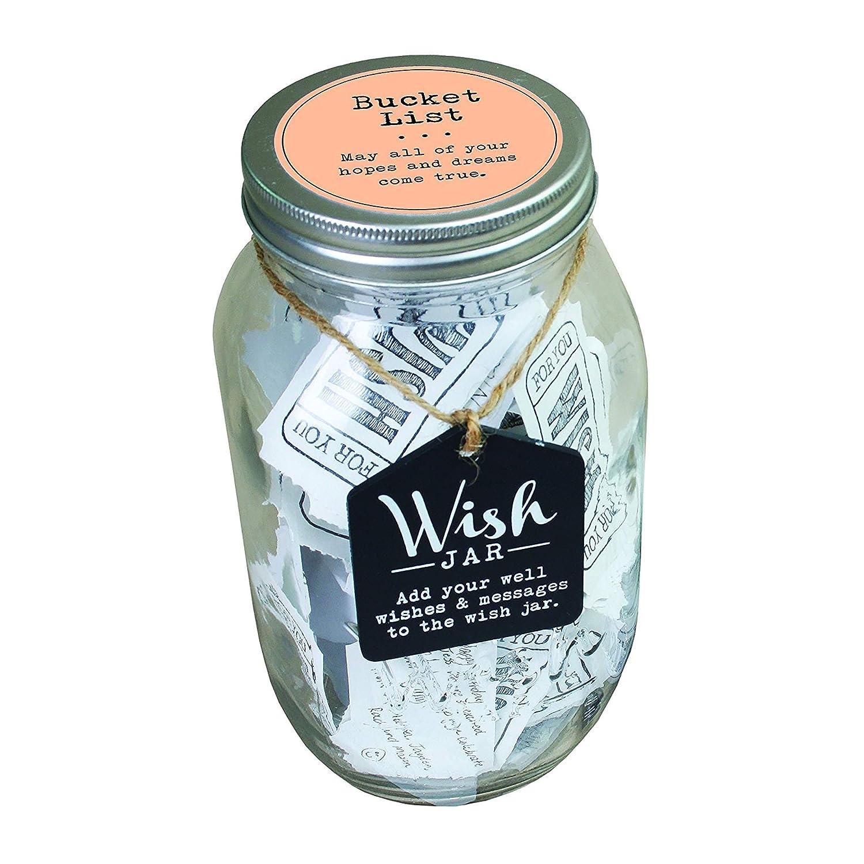 Top Shelf Bucket List Wish Jar Unique Gift Ideas For Him Or Her Amazon In Home Kitchen