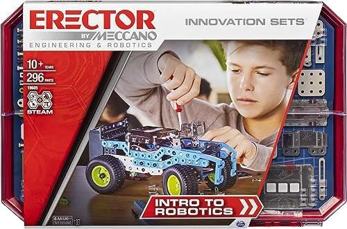 Meccano Erector, Intro to Robotics Innov…