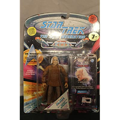 Star Trek The Next Generation Dr. Noonian Soong 4 inch Action Figure: Toys & Games